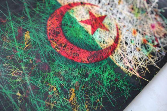 Fragment of Algeria Flag