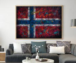 Printed Flag of Norway