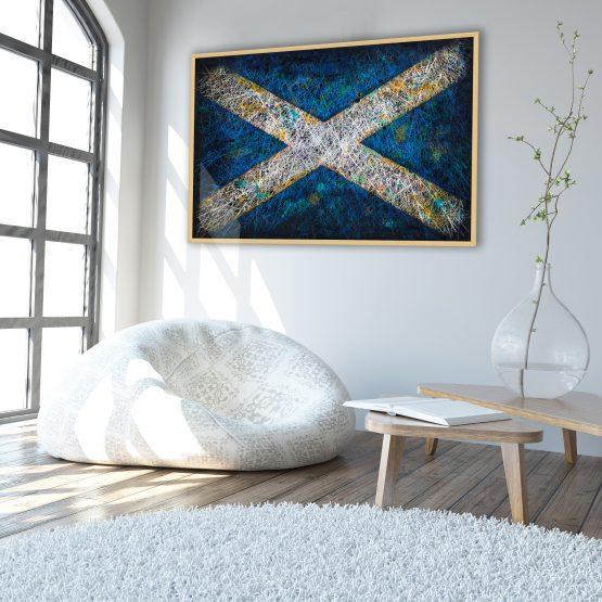 Printed Scotland - Wall Art