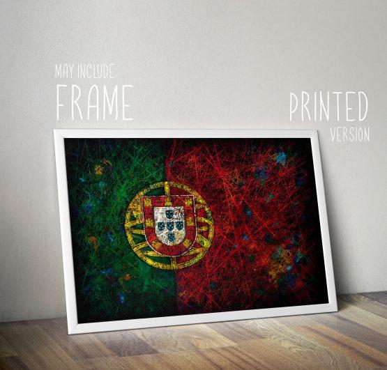 Gift Idea - Printed Framed Flag