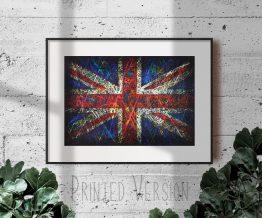 Printed Flag of United Kingdom